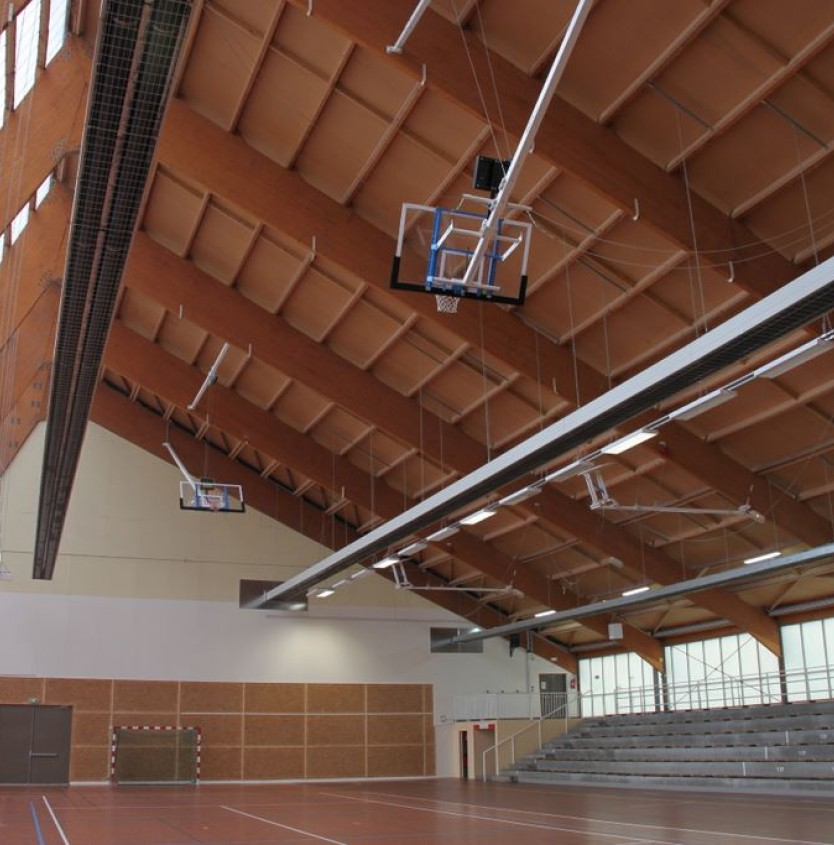 Sports halls and rooms